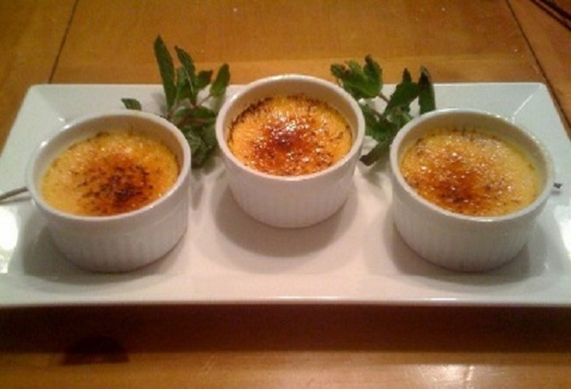 Easy Creme Brulee Recipe Feature Dish