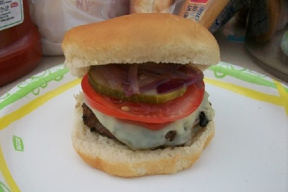 Juicy Cheeseburger