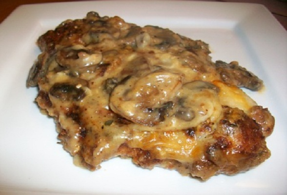 mushrooms gorgonzola romantic chicken with artichokes and mushrooms ...