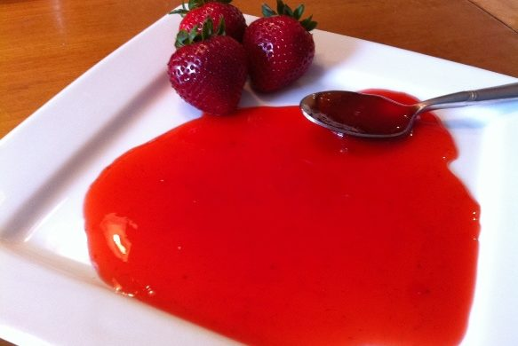 Homemade Strawberry Glaze