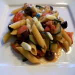 Pasta-with-Zucchini-Tomatoes-and-Olives