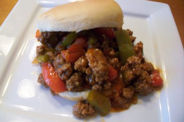Sloppy-Joe-Sandwich