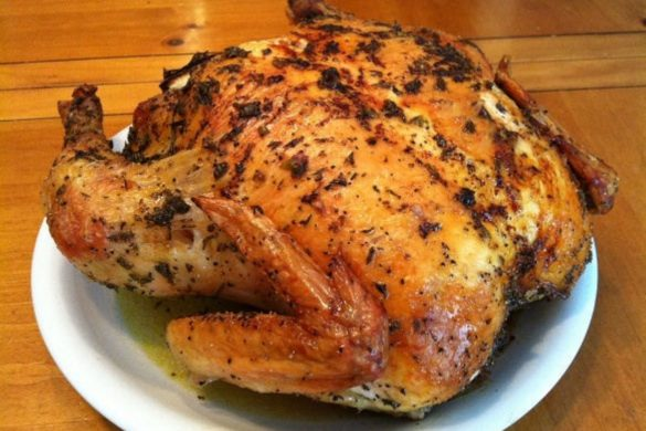 Herb-Roasted-Whole-Chicken
