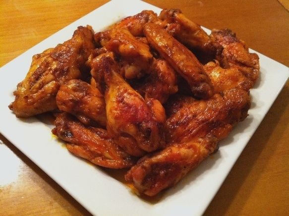 Baked Buffalo Chicken Wings Recipe | Feature Dish