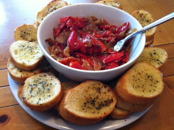 Easy Roasted Red Peppers Recipe