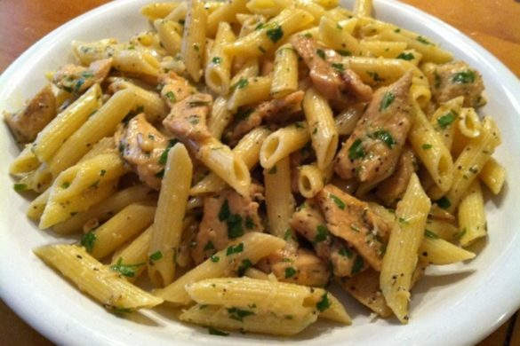Lemon-Chicken-Pasta-with-Toasted-Pine-Nuts