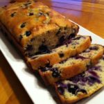 Lemon Blueberry Poppy Seed Loaf Bread