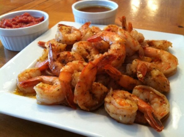 Spicy Garlic Shrimp (featured)