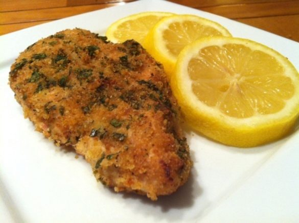 Garlic-Herb-Crusted-Chicken