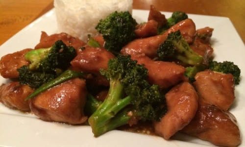 Chinese Chicken with Broccoli