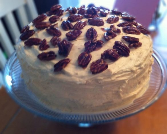 Homemade-Chocolate-Cake-with-Salted-Caramel-Frosting-and-Candied-Pecans
