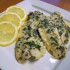 Baked Flounder with Lemon-Garlic Butter Sauce